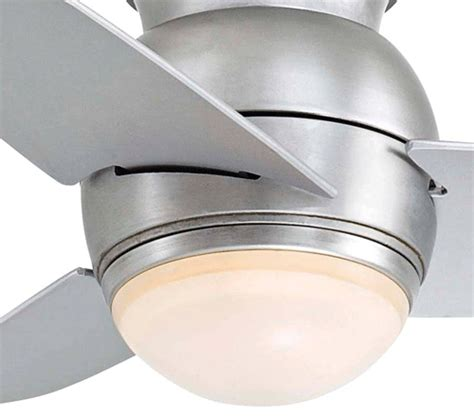 space saver ceiling fans minka aire f510 bs one light steel hugger ceiling fan