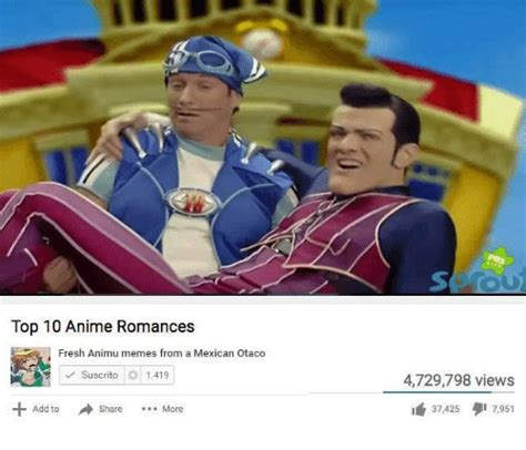 Top Ten Memes - 25 best memes about top 10 anime romance top 10 anime