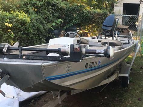landau fishing boats 1988 16 aluminum landau bass boat for sale in ambler