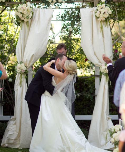 Wedding Arch Fabric by Ceremony Arch Fabric Help Weddingbee