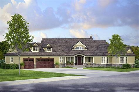 luxury craftsman home plans luxury craftsman home plan with 4211 square family