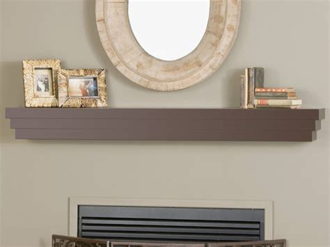 cascade fireplace mantel shelf modern fireplace