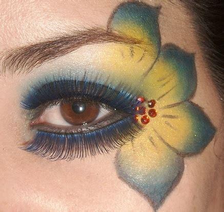 imagenes de ojos con flores maquillaje de fantas 237 a con flores