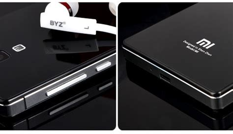 Xiaomi Redmi 1s Screen Mirror Screen Protector redmi 1s mirror glass panel with metal frame black grey