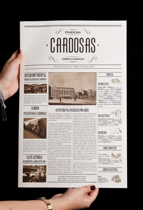 newspaper layout person 10 most beautiful exles of typographic brochure designs
