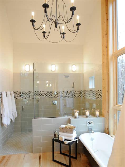 contemporary bathroom lighting hgtv