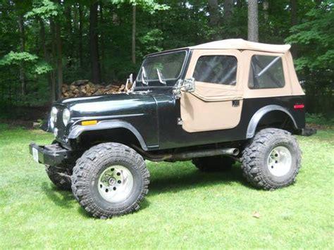 1976 Jeep Cj7 For Sale Buy Used 1976 Jeep Cj7 Fiberglass Tub Completely Restored