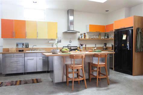 cuisine v馮騁arienne simple couleurs agr 233 able pour une cuisine d 233 co moderne et