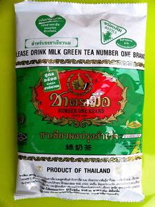 A791 Thai Green Tea Number One Chatramue Brand thai green tea milk powder number one brand since 1945