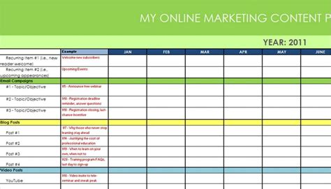 annual marketing calendar template annual leave plan template calendar template 2016