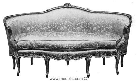 ottomane meuble ottomane louis xv 224 quatre pieds en fa 231 ade meuble de style