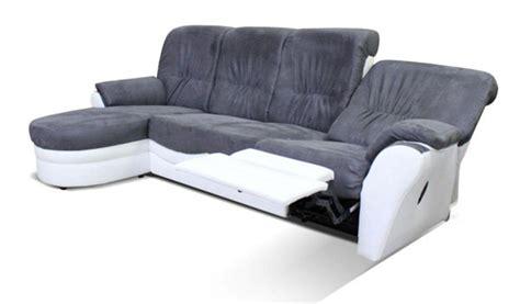 canape brest canape d angle relax 192 gauche brest blanc gris