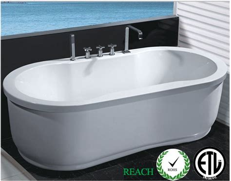 Jetted Tub Hydrotherapy Whirlpool Jetted Bathtub Indoor Soaking