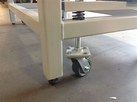 work benches on wheels heavy duty work bench with retractable wheels matt in