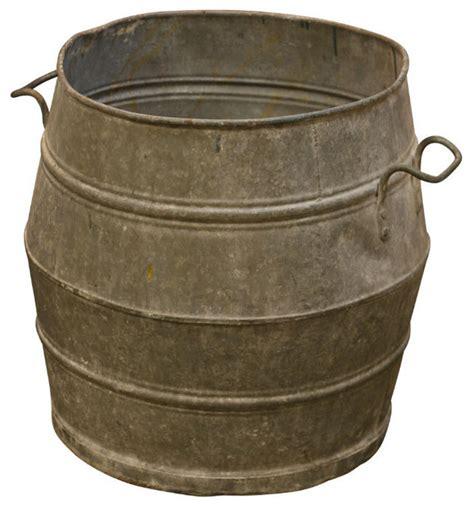 Zinc Planters by Vintage Zinc Planter Indoor Pots And