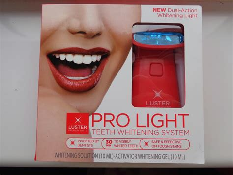 luster pro light teeth whitening system review jenna suth