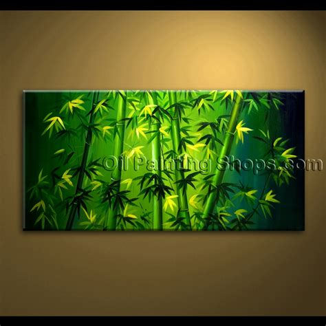 feng shui painting original abstract feng shui painting on canvas bamboo