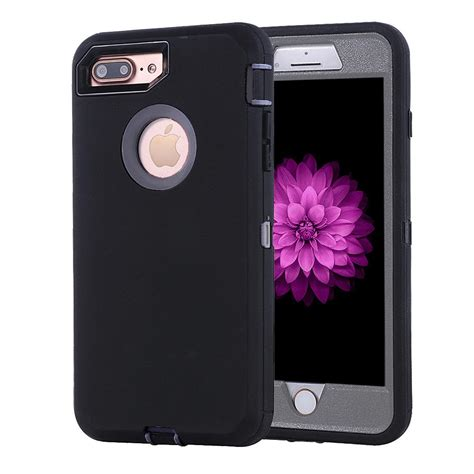 for iphone 6 6s 6 plus 7 7 plus cover w belt clip fits otterbox defender ebay