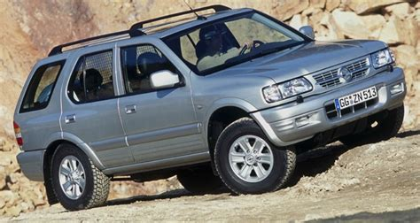 opel frontera 1998 2004 reviews technical data prices
