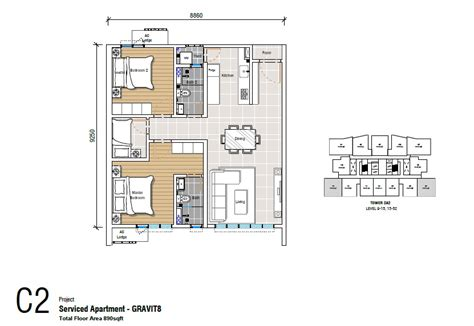 adria floor plan affordable service apartment in malaysia gravit8 at klang south