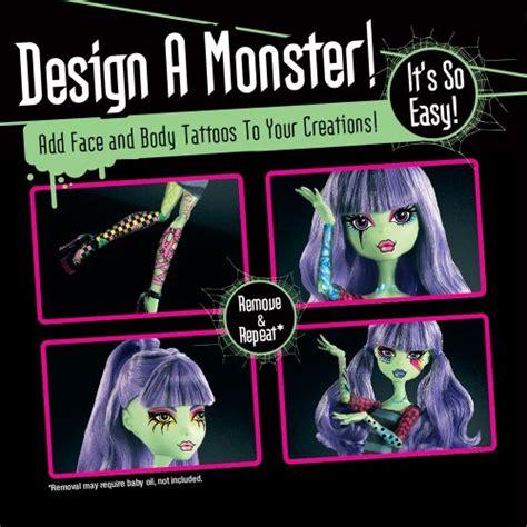 x3732 design lab monster high x3732 dise 241 a tu monstruo quejugueteregalo es