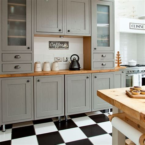 shaker style kitchen home design and decor reviews grey shaker style kitchen with tiled flooring shaker