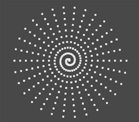 spiral pattern drawing machine algorithm draw equidistant points on a spiral stack