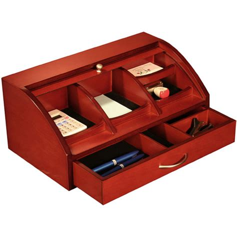 Top Of Desk Organizer Roll Top Desk Organizer In Desktop Organizers