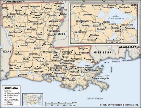 map of louisiana cities louisiana cities encyclopedia children s