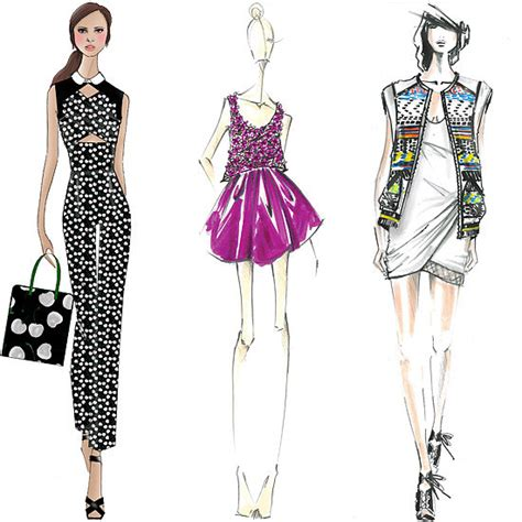 design fashion news designer sketches spring 2014 new york fashion week