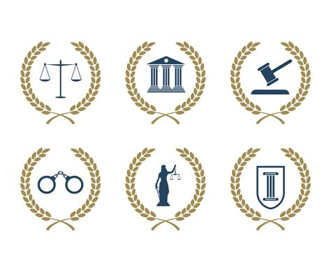 lawyer logo vector free lawyer logo vector with wreath vector graphics freevector