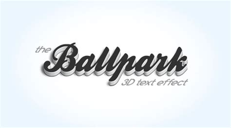 how to create a 3d text effect in adobe illustrator vectips 50 of the best photoshop tutorials of 2010 webdesigner depot