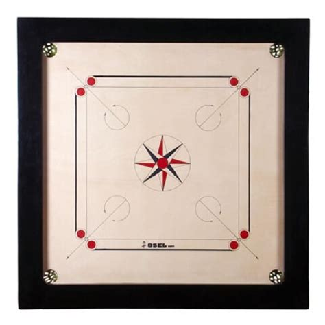 portable carrom board l shade osel carrom board black 12mm available at healthkart