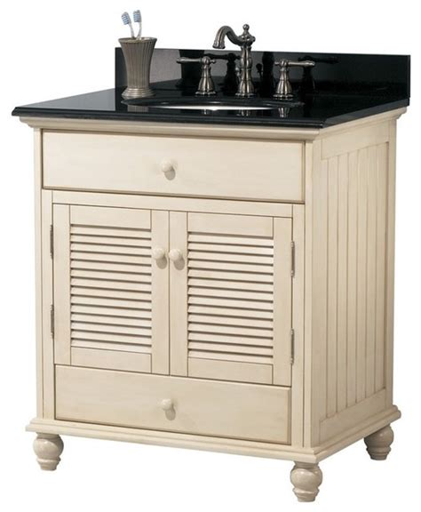 Cottage Vanity Cabinet by Foremost Ctaa3022d Cottage 30 Quot Vanity Cabinet Only In Antique White Traditional Bathroom