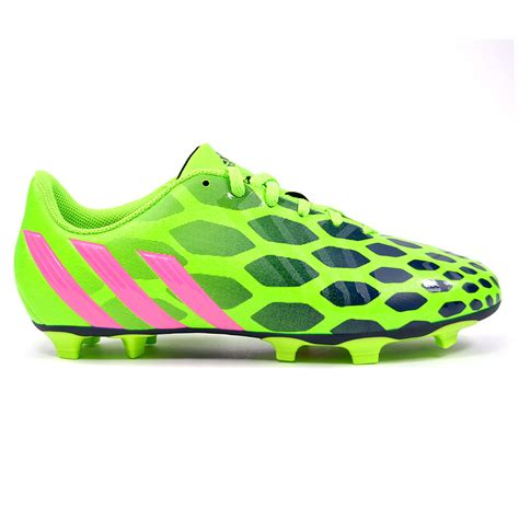 adidas predito instinct fg womens solar green pink soccer