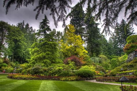 imagenes de jardines soñados фото канада butchart victoria hdri природа сады ветки