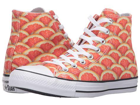 Carambola Shoes Black converse chuck 174 all 174 fruit slices graphic hi orange white black 6pm