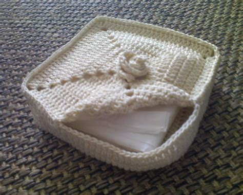 pattern for fabric napkin holder free patterns 15 beautiful crochet spa basket patterns