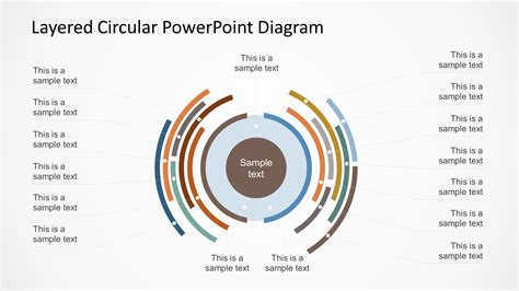 free circular layered diagram for powerpoint slidemodel layered circular powerpoint diagram