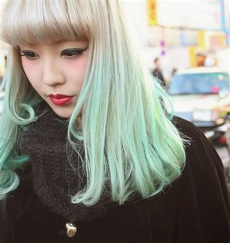 mint color hair frankie savage mint green hair