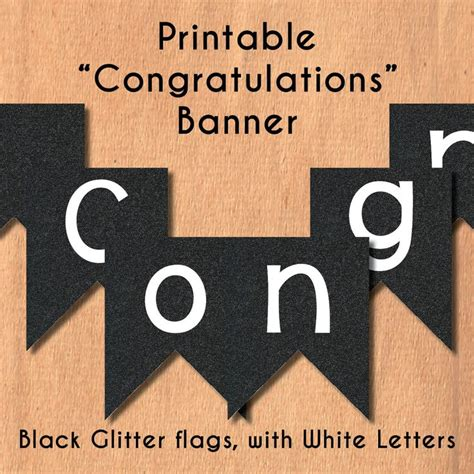 printable congrats banner 1 000 件以上の congratulations banner のおしゃれアイデアまとめ pinterest