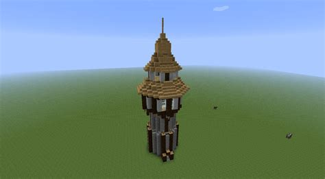 Complete House Plans by Wizard Tower Minecraft Project