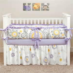 custom boutique baby bedding suzani lavender 5 pc crib