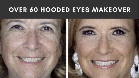 makeovers for60 plus women makeover on my mom over 60 mature skin hooded eye