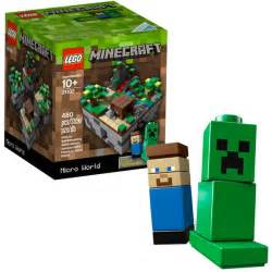 Build Your House Online Free Lego Minecraft Micro World 21102