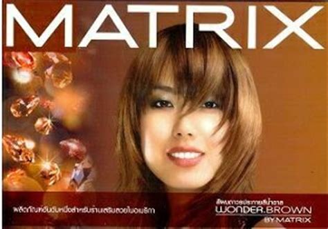 Harga Semir Matrix Warna Coklat greeny butter rambut hitam ke coklat my browny hair