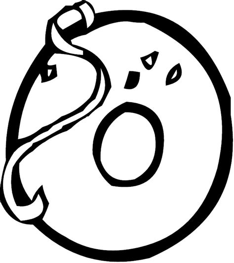 O Coloring Pages Free Coloring Pages Of Letter O by O Coloring Pages