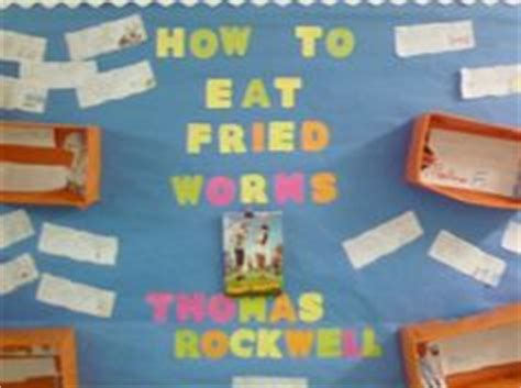 how to eat fried worms book report how to eat fried worms info chart anchor charts
