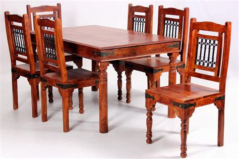 Acacia Wood Dining Table And Chairs Acacia Dining Table And Chair