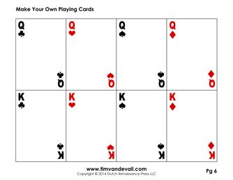 Deck Of Cards Template by Blank Card Template Make Your Own Cards Pdf